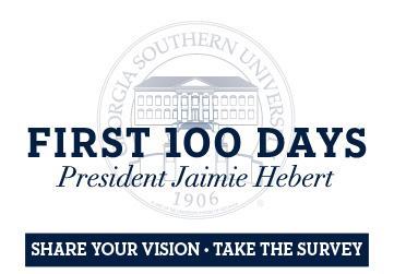 Share you vision. Take the survey about President Hebert's First 100 Days.