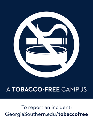 Georgia Southern is a Tobacco Free Campus