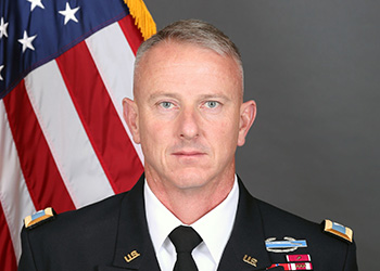 Photo of Col. Randall Simmons, A Position of Leadership