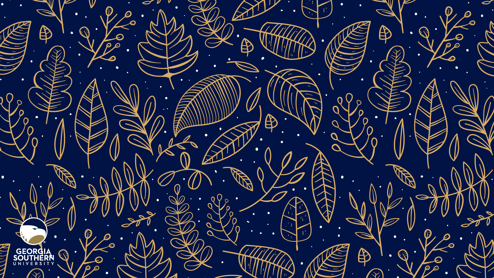 download a background of an autumn leaves pattern