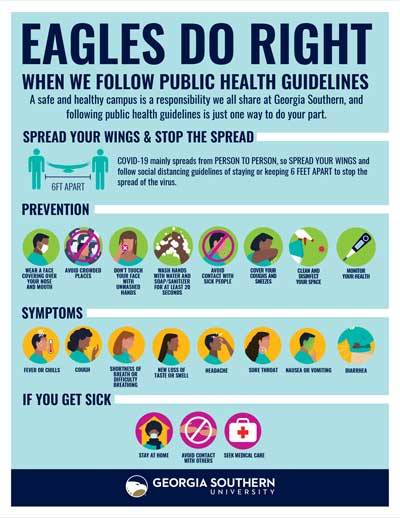 Eagles Do Right When We Follow Public Health Guidelines (Best Practices to Prevent COVID19)