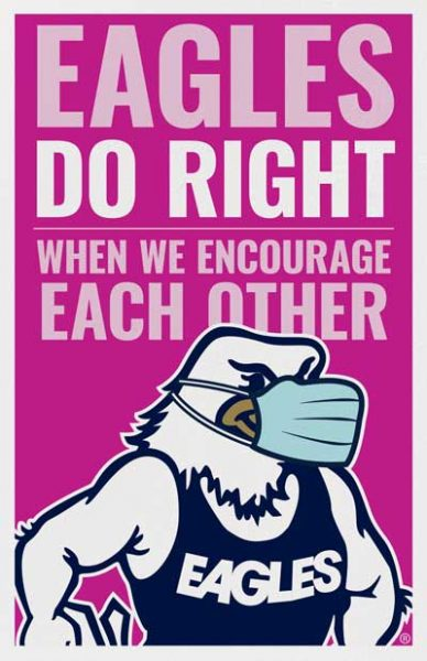 Eagles Do Right When We Encourage Each Other