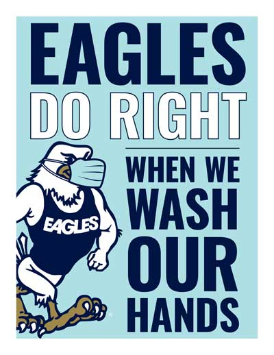 Eagles Do Right When We Wash Our Hands