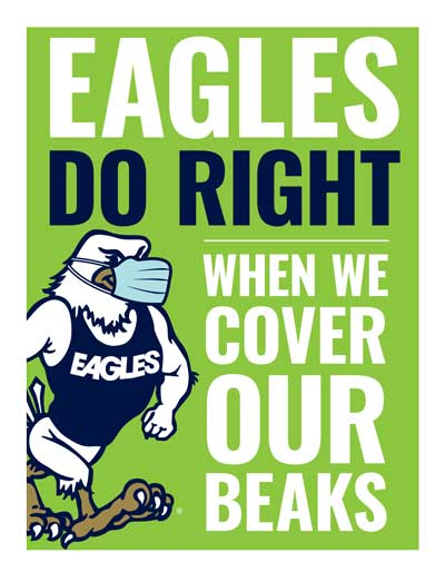 Eagles Do Right When We Cover Our Beaks