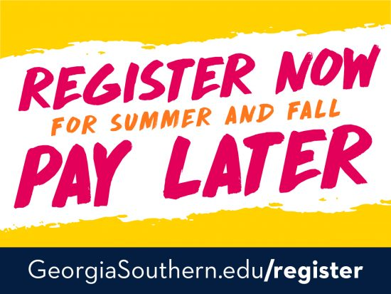 Register Now for Summer and Fall