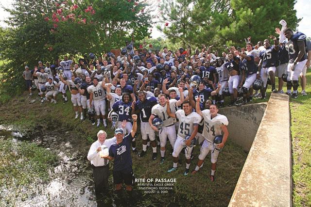 football team at eagle creek