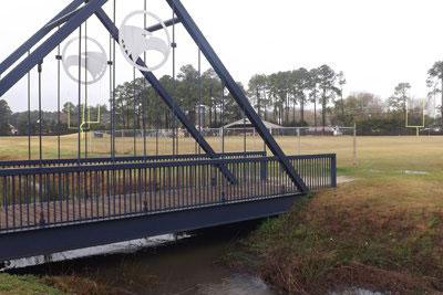bridge over eagle creek
