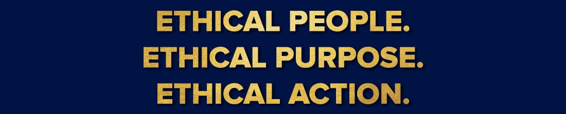 Ethical people ethical purpose ethical action