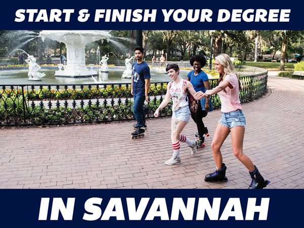Start and Finish Your Degree in Savannah