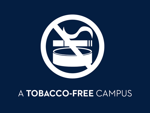 We're a Tobacco-Free Campus