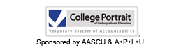 Visit the College Portrait Web site