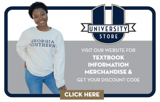 University Store. Visit our website for textbook information merchandise & get your discount code - Click here