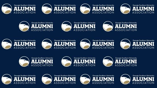 download a blue zoom background of the alumni association logo