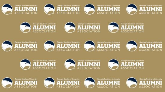 download a gold zoom background of the alumni association logo