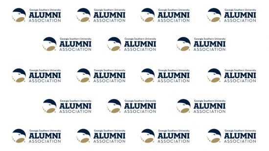 download a white zoom background of the alumni association logo