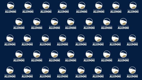 download a blue zoom background of the alumni logo