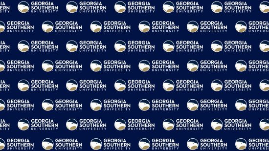 download a zoom background of tiled georgia southern logos